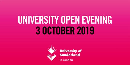 University of Sunderland in London Open Evening