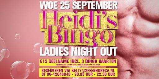 Heidi's Bingo - woensdag 25 september