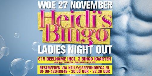 Heidi's Bingo - woensdag 27 november