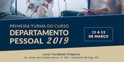 NOÇÕES BÁSICAS DE DEPARTAMENTO PESSOAL