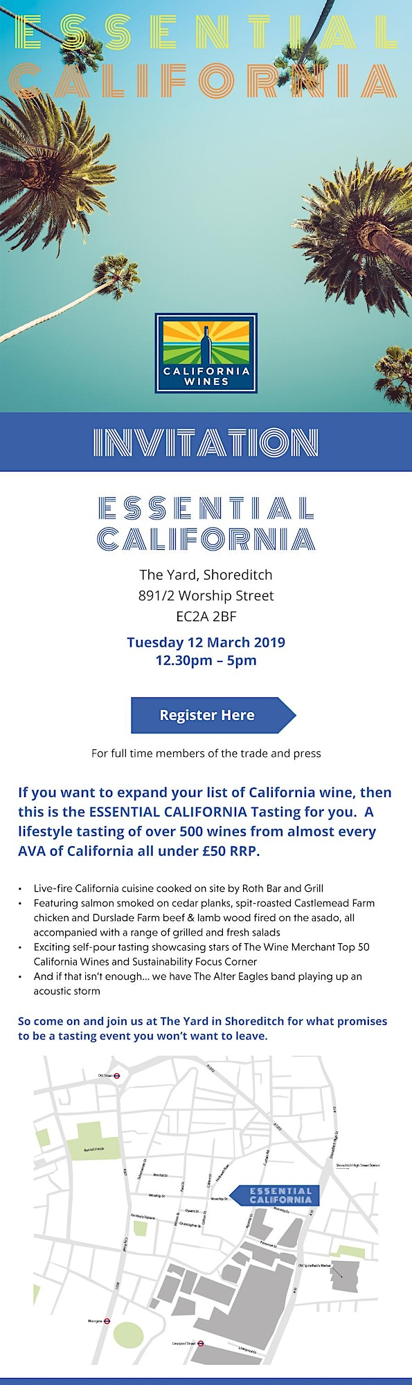 Essential California Wine Tasting - Wine trade and press only image