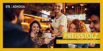 Preisstolz - Sonderedition Hotelfrühstück Grub am Forst 03.09.2019