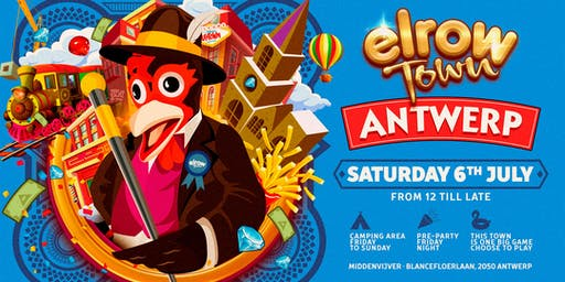 Glamping elrow Town Antwerp