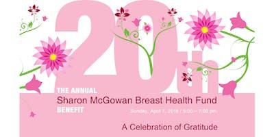 20th Annual Sharon McGowan Breast Health Fund Benefit