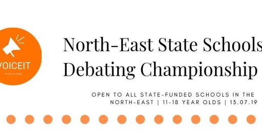 North-East State Schools Debating Championship 2019