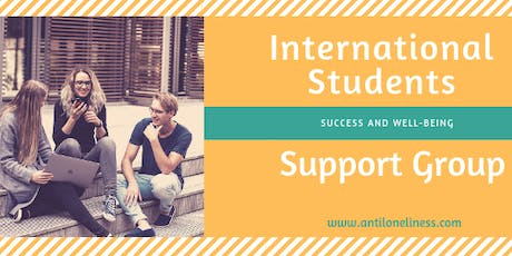 International Student Support Group  tickets