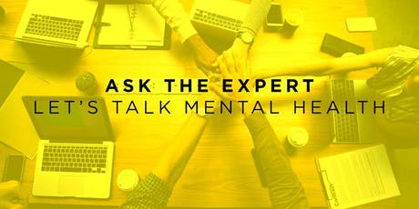 Ask The Expert: Kavya Andersen-Tufnell - Let's Talk Mental Health tickets