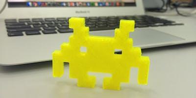 Oficina Modelagem Básica para Impressão 3D (turno tarde)