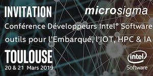 Conférence Développeurs Intel® pour l'embarqué, l'IOT,...