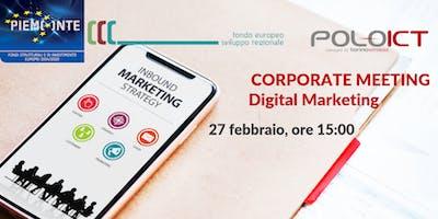 Corporate Meeting Digital Marketing