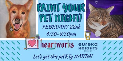 Paint Your Pet Night @ Eureka Heights Brewing Co.