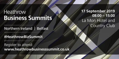 Northern Ireland Heathrow Business Summit 2019