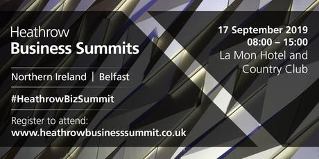 Northern Ireland Heathrow Business Summit 2019 tickets