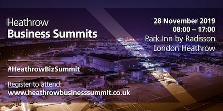 Flagship Heathrow Business Summit 2019 tickets