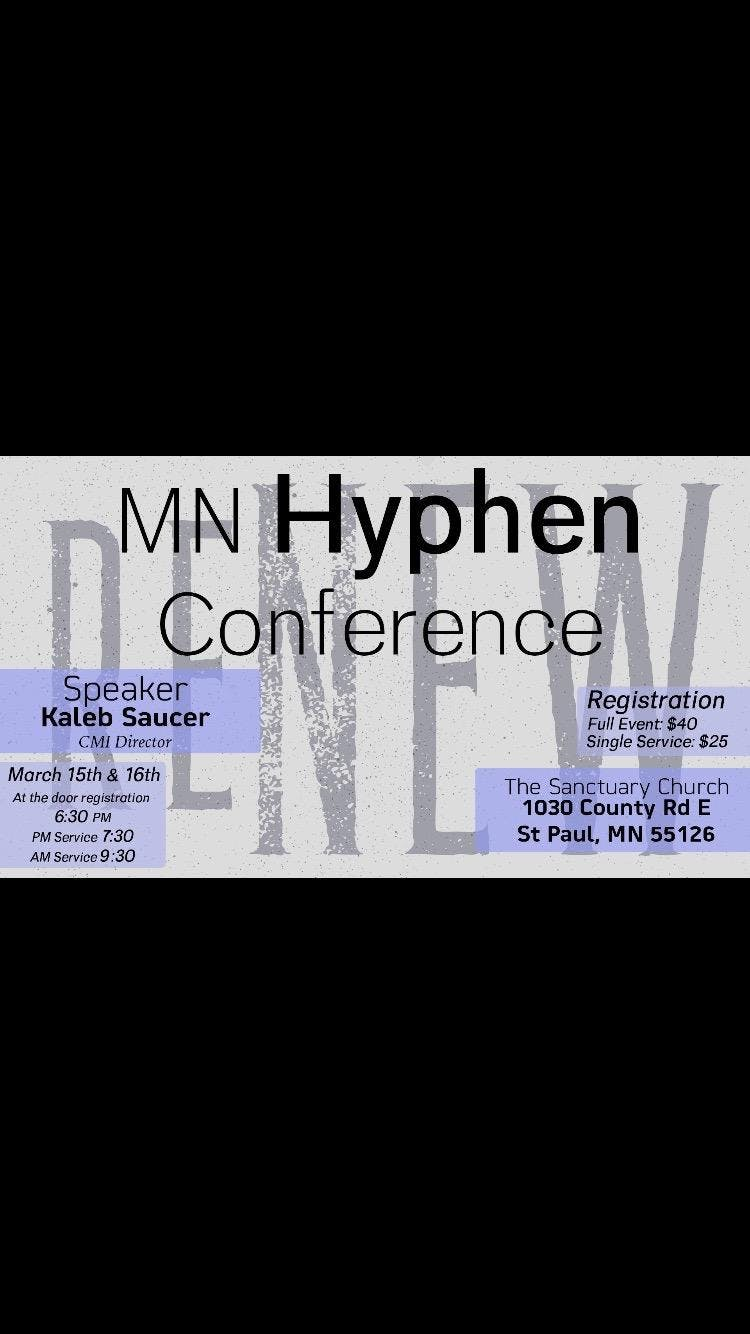 MN District Hyphen Conference 2019