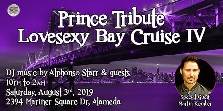 Prince Tribute: LoveSexy Bay Cruise IV tickets