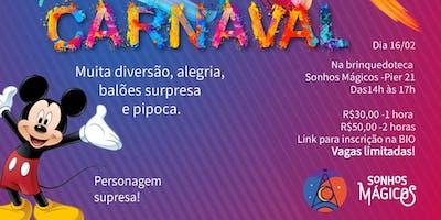Pré Carnaval Brinquedoteca Sonhos Mágicos