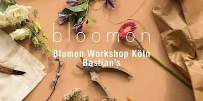 bloomon Workshop 07. März | Köln, bastian´s