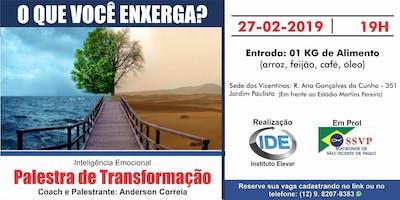 Palestra de Transformação - Inteligência Emocional