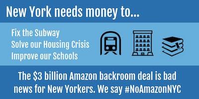 JFREJ Campaign Meeting: #NoAmazonNYC