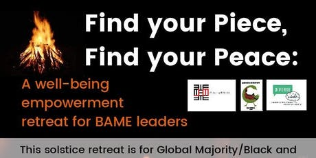 Find your Piece, Find your Peace: A Retreat for Black and Asian Leaders tickets