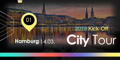 Happinezz Kick-off City Tour Hamburg