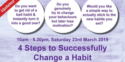 4 Steps to Successfully Change a Habit