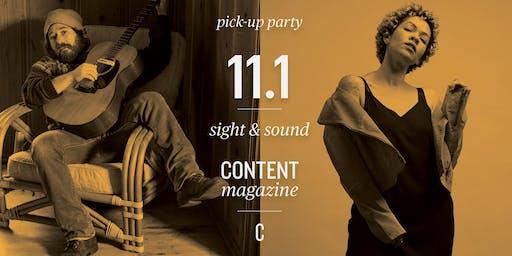 内容提取派对11.1视觉和声音