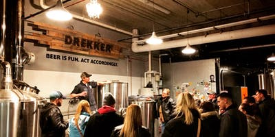 Drekker Brewing Grains-to-Glass Tour - Supporting the UnPillage Charities
