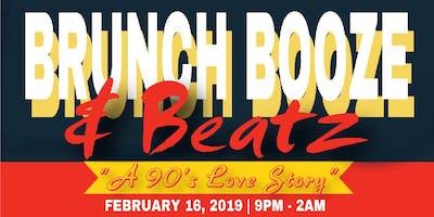 """Brunch Booze & Beatz   The Midnight Brunch """"A 90's Love Story Edition"""""""