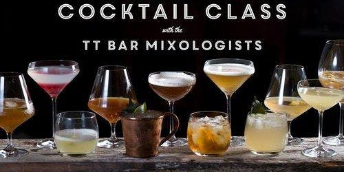 Cocktail Class with our Mixologists