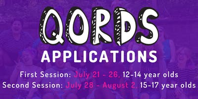 2019 QORDS Camp Applications