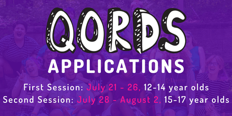 2019 QORDS Camp Applications tickets