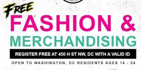 FREE Fashion & Merchandising Class tickets