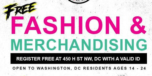 FREE Fashion & Merchandising Class