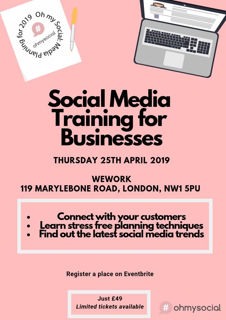 Oh my Social: Social Media Training for Busin