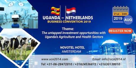Uganda Netherland Business Convention 2019  tickets