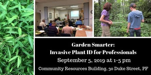 Garden Smarter: Invasive Plant ID for Professionals