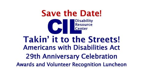 ADA Anniversary Celebration Awards and Volunteer Recognition Luncheon tickets