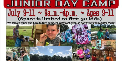 2019 Deerassic Junior Day Camp