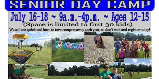 2019 Deerassic Senior Day Camp