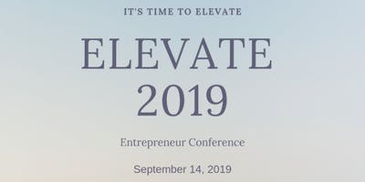 Elevate 2019 - Entrepreneurs Conference