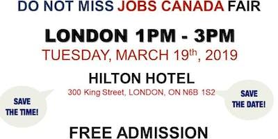 London Job Fair - March 19th, 2019