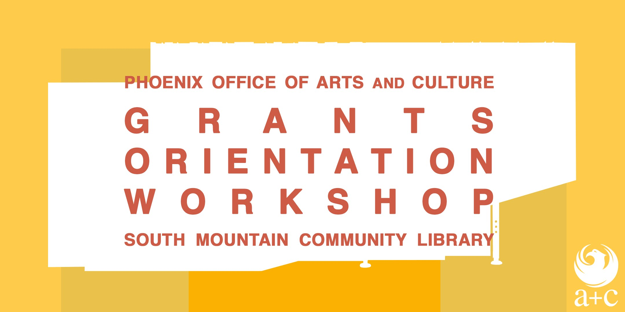 Grants Orientation Workshop at South Mountain Community Library