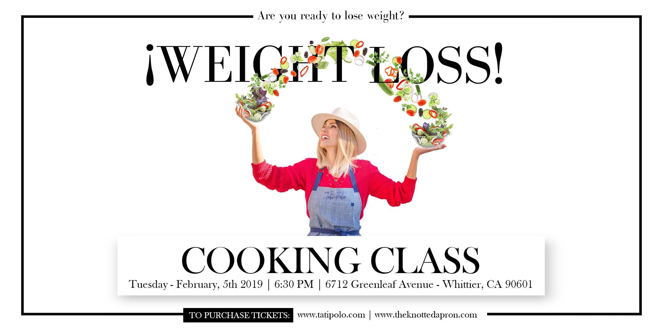 WEIGHT LOSS - COOKING CLASS