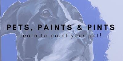 Pets, Paints & Pints