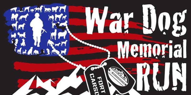 Ft. Carson War Dog Memorial 5K run honors K-9 vets