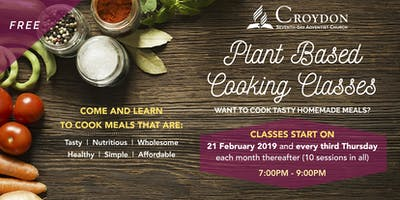 Croydon Plant Based Cooking Classes