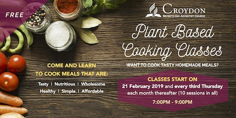 Croydon Plant Based Cooking Classes tickets