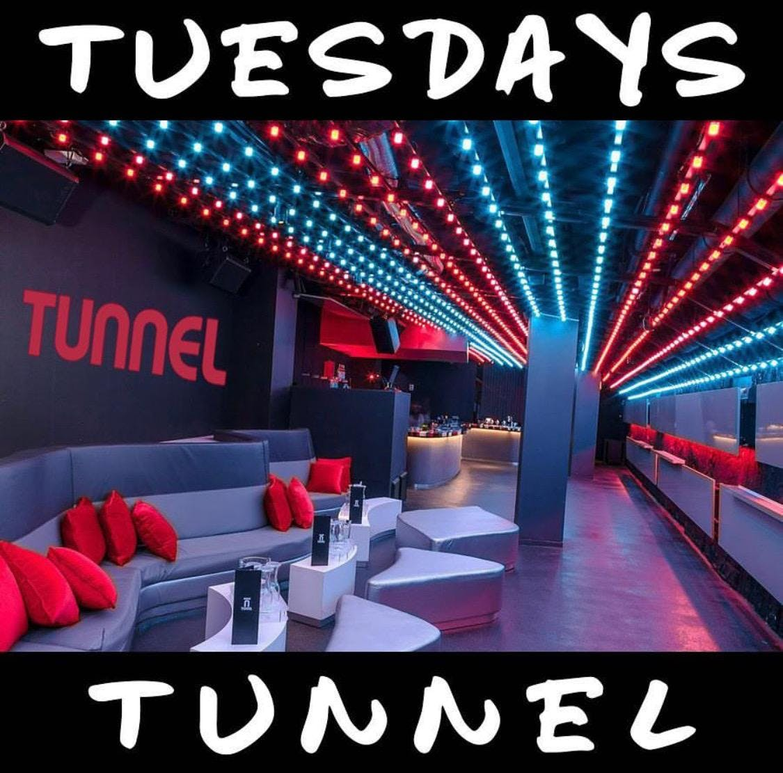 #TunnelTuesdays at TUNNEL BOSTON